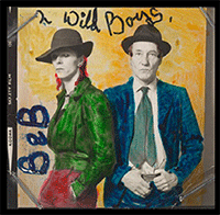 Bowie and William Burroughs