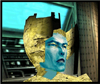 Bowie as game character Omikron