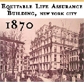 1870 Equitable Life Assurance Building NYC