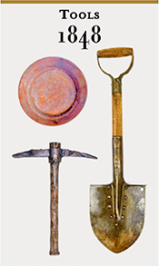 gold mining tools