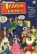 Cover showing Lois in all six personas.